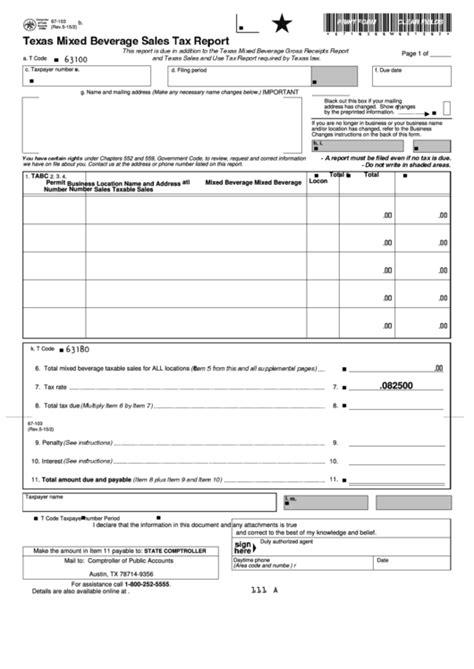 Tax Publications Texas Comptroller of Public Accounts