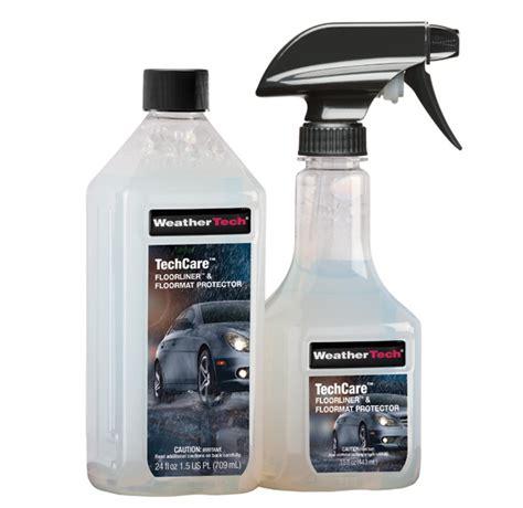 TechCare FloorLiner and FloorMat Protector WeatherTech