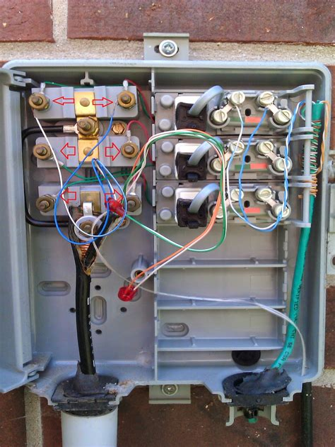 Telephone Network Interface Wiring