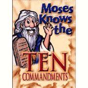 Ten Commandments Memory Pegs