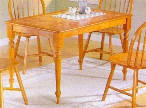 Terracotta Tile Top Dining Table Sears