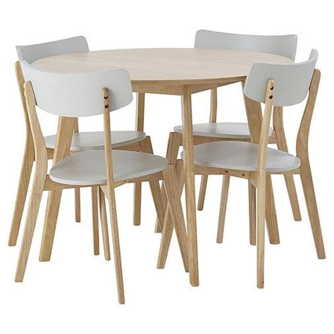 Tesco direct Tesco Breakfast Table and 2 Chair Set White