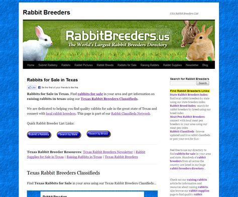 Texas Rabbit Breeders USA Rabbit Breeders