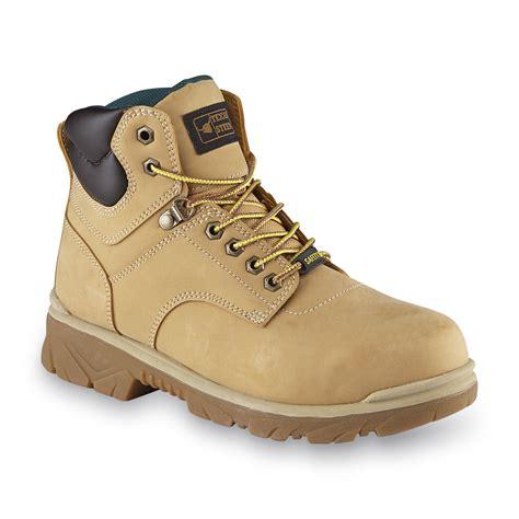 Texas Steer Men s Maximus Wheat Steel Toe Work Boot