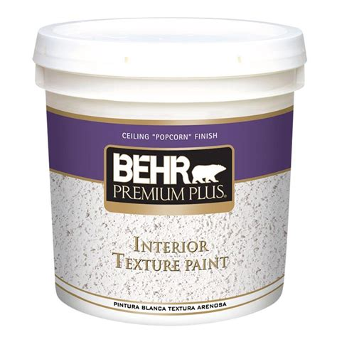 Textured Interior Paint The Home Depot