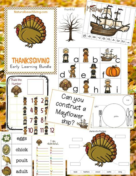 Thanksgiving Activities The Lesson Plans Page