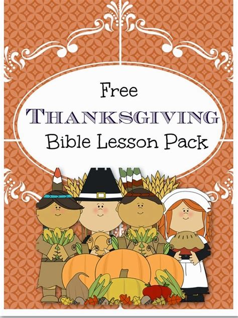Thanksgiving Bible Lesson Little Blots