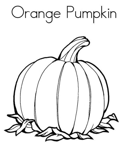 Thanksgiving Coloring Page Pumpkin PrimaryGames Play