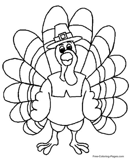 Thanksgiving Coloring Pages Nest of Posies