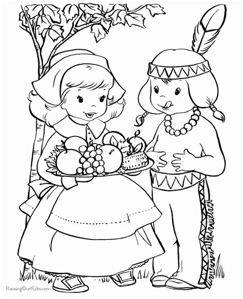 Thanksgiving Coloring Pages Raising Our Kids