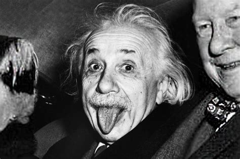 That Photo of Einstein Sticking His Tongue Out Just Sold