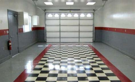 The Benefits of Vinyl Composite Tile VCT Garage Flooring