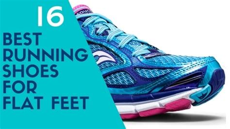 The Best Running Shoes for Flat Feet 2017