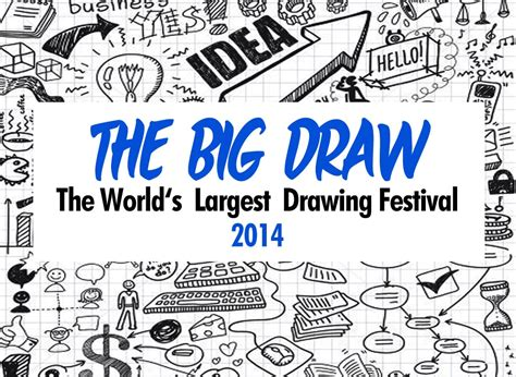 The Big Draw The world s largest drawing festival The