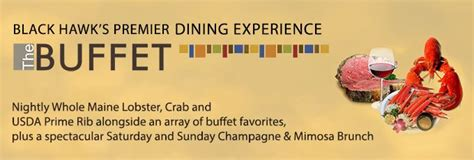 The Buffet Crab Lobster Prime Rib Champagne Brunch