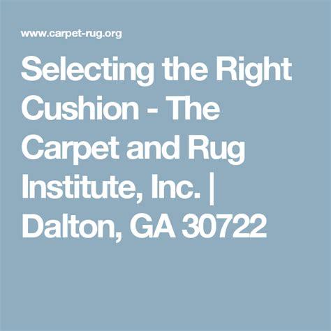 The Carpet And Rug Institute Inc Dalton Ga 30722 Home
