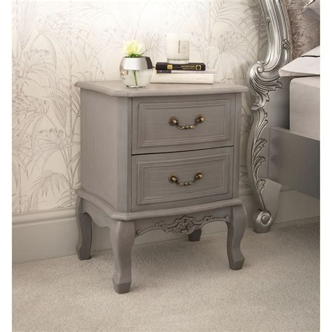 The Cottage Range 2 drawer Shabby Chic Bedside Table