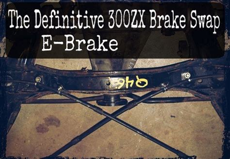 The Definitive 300ZX Brake Swap Paqe importnut