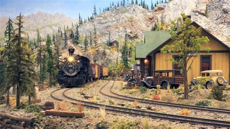 The Denver Rio Grande Western Narrow Gauge Model