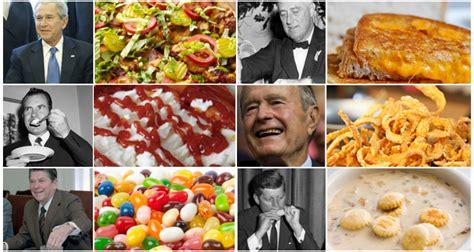 The Food Timeline Presidents food favorites