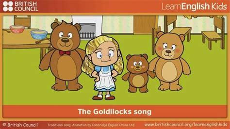 The Goldilocks song LearnEnglish Kids British Council