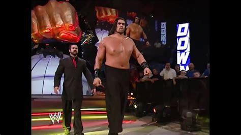 The Great Khali s WWE Debut SmackDown April 7 2006