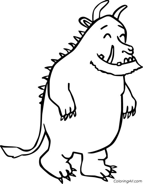 The Gruffalo Colouring Sheets The Gruffalo resources mouse