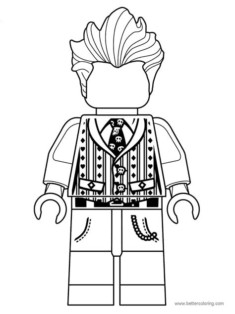 The LEGO Movie Coloring Pages Free Printable The LEGO