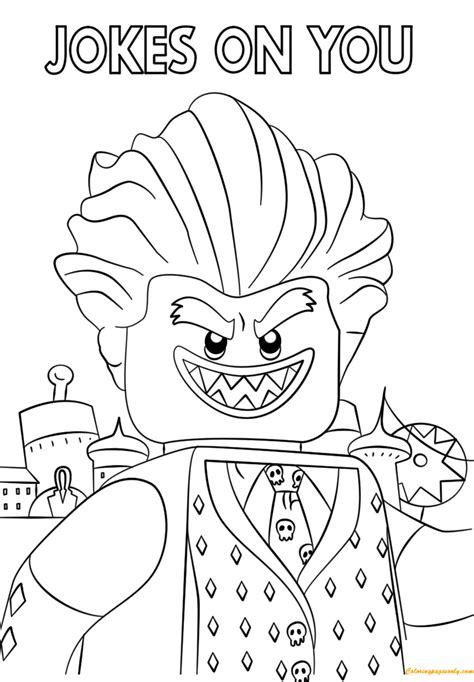 The Lego Batman Movie Coloring Pages GetColoringPages