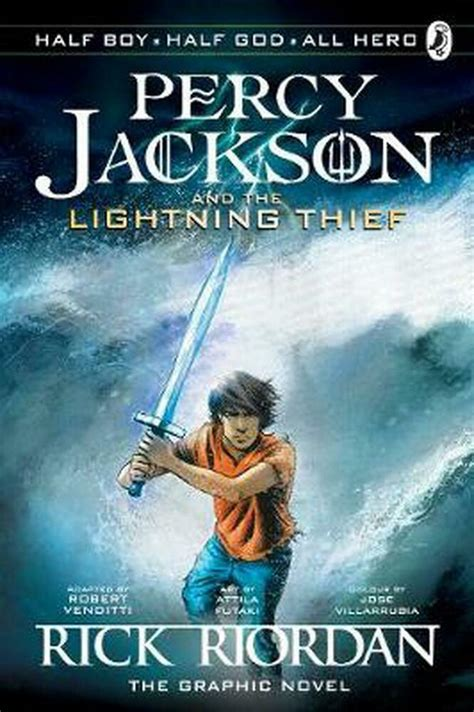 The Lightning Thief The Graphic Novel Percy Jackson