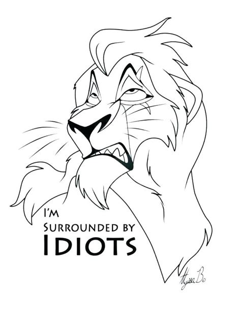 The Lion King Coloring Pages Free Printable Coloring