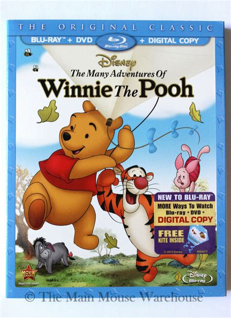 The Many Adventures of Winnie the Pooh Blu ray