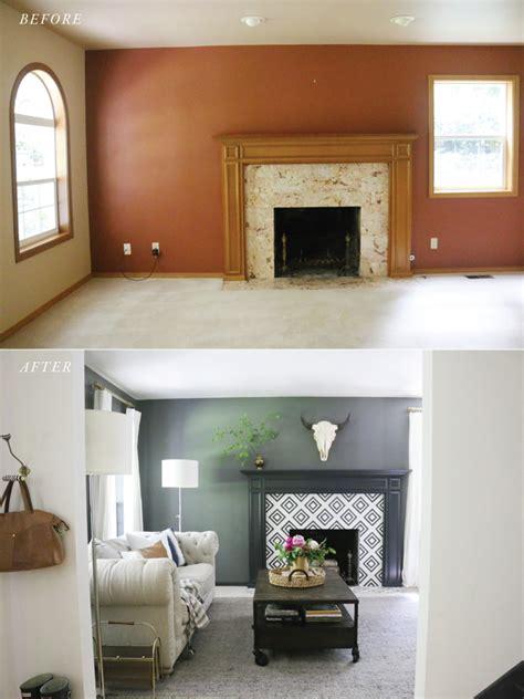 The Moody Living Room Makeover Reveal Jones Design Company