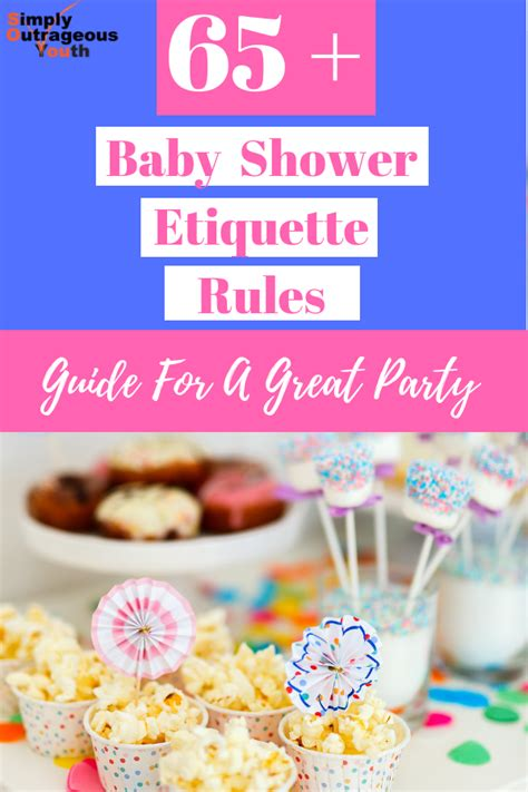 The Perfect Baby Shower Etiquette