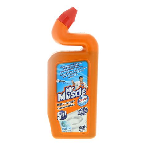 The Power of Tough Cleaning Mr Muscle