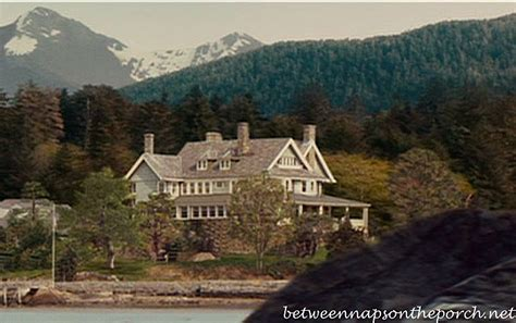 The Proposal Movie House in Alaska Between Naps on the Porch