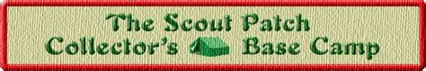The Scout Patch Collectors Base Camp