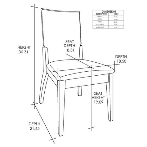 The Standard Height for a Dining Room Chair Hunker