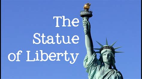 The Statue of Liberty for Kids Famous World YouTube