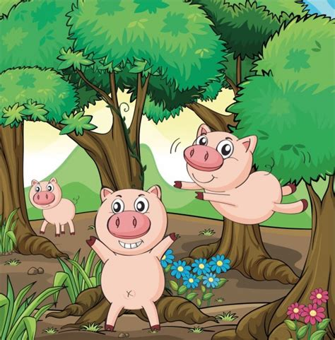 The Three Little Pigs Storynory