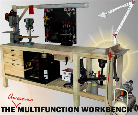 The Universal Multipurpose Workbench 22 Steps with Pictures