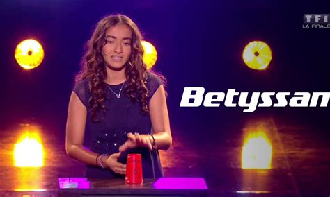 The Voice Kids Betyssam Rather be Clean Bandit TF1