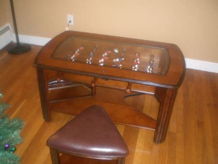 The foosball table disguised as a coffee table Sideline
