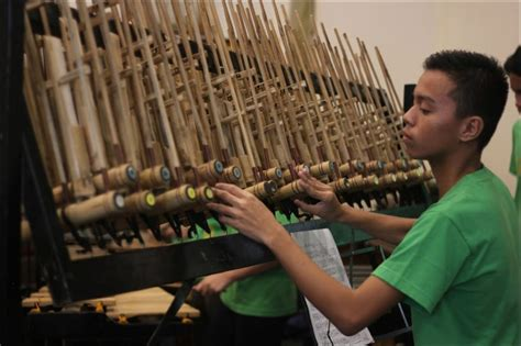The musical bamboos