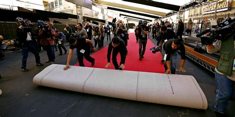 The red carpet isn t actually red and other secrets
