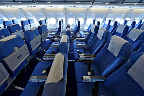 There s a VERY good reason why aeroplane seats are blue