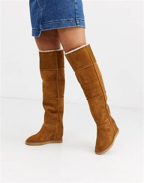 Thigh high boots Over The Knee Boots ASOS