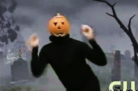 This Is What The Dancing Pumpkin Guy Looks Like
