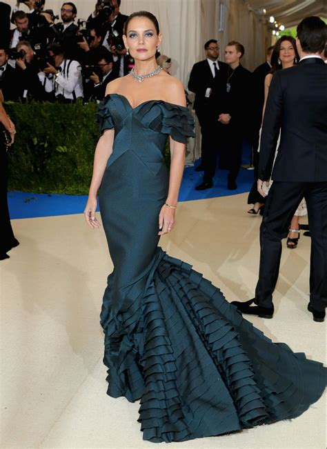 This Might Be Katie Holmes Best Red Carpet Look Ever