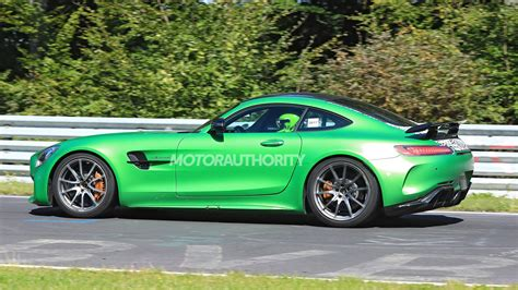 This Sure Looks Like The 2019 Mercedes AMG GT Black Series